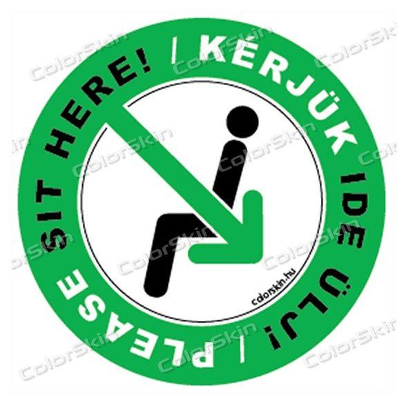 Kérlek ide ülj körmatrica két nyelven