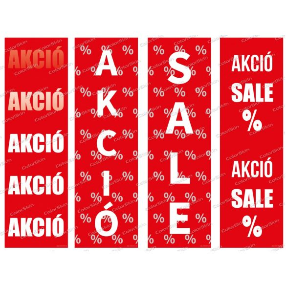 Akció / Sale - álló molinó