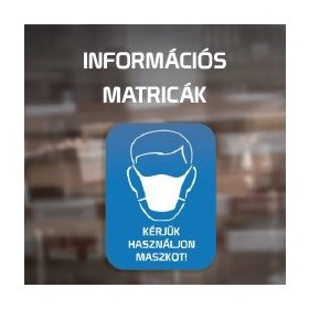 Információs matricák